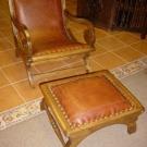 Chair/Ottoman Pecos