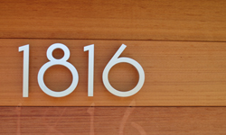 1818 Address number