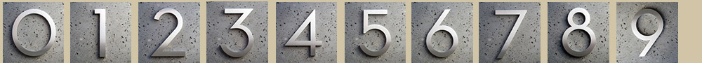 modern-address-numbers
