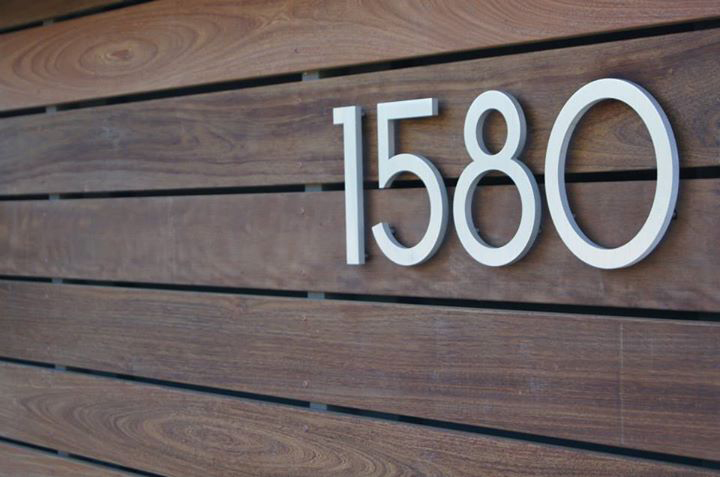 1580 Address numbers