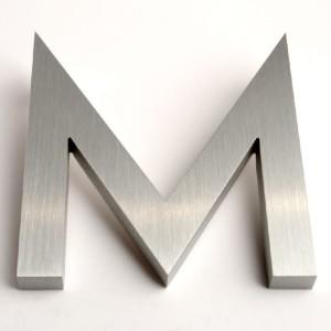 Modern Aluminum House Letters